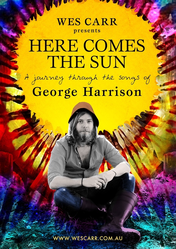 text here comes the sun