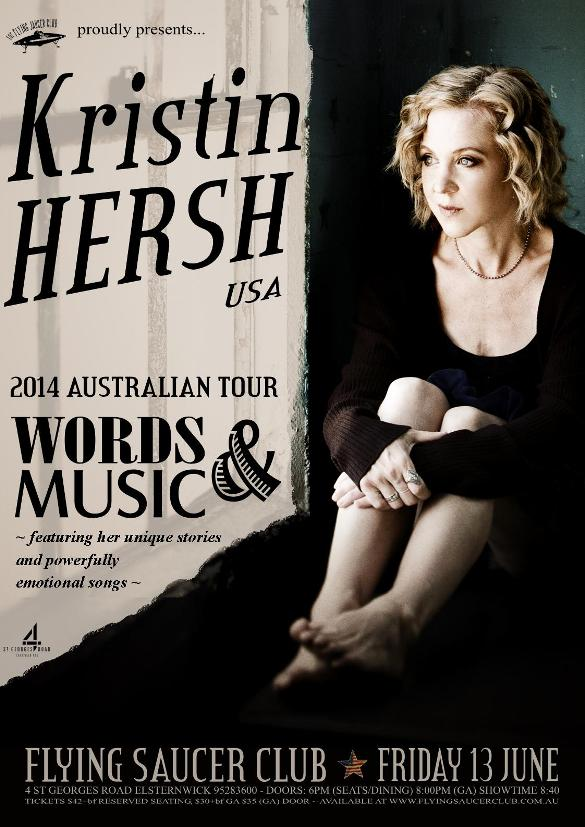 Kristin Hersh Usa Flying Saucer Club