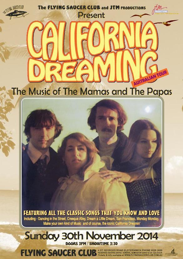 California Dreaming – Music of the Mamas & the Papas